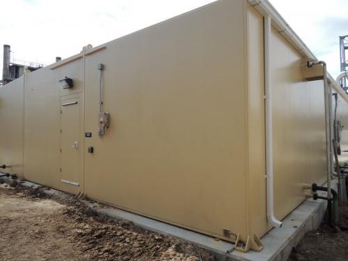 blast resistant enclosure - blast shelter