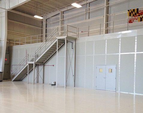 Blast resistant partition - Fire Resistant Walls